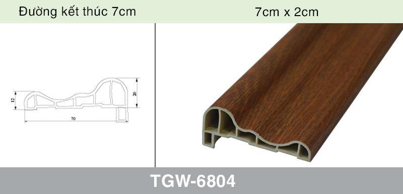 đường viền vân gỗ TGW-6804