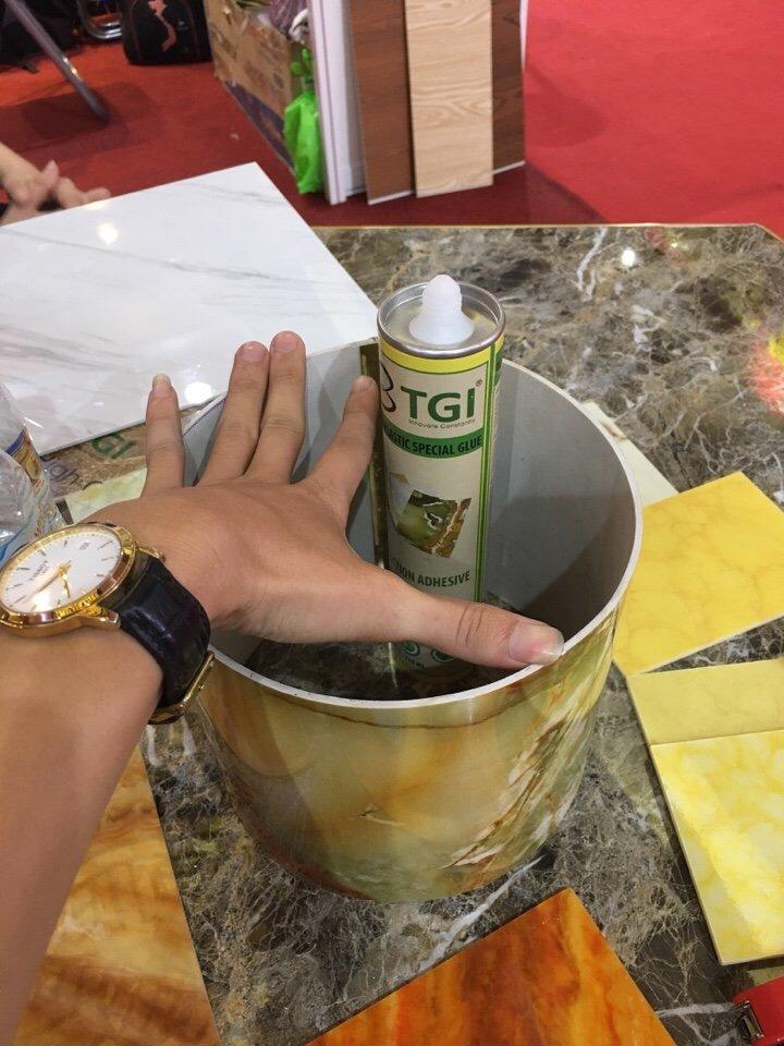 keo dán tấm nhựa giả đá