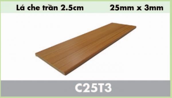 nẹp gỗ nhựa composite