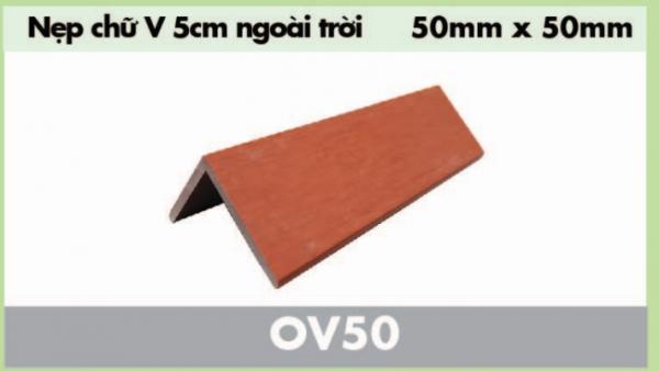 nẹp gỗ nhựa chữ v